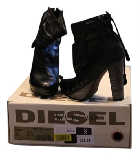 Preload https://item5.tradesy.com/images/deisel-black-and-gray-boots-1970254-0-0.jpg?width=440&height=440