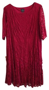 Adrianna Papell Lace Holiday Party Dress