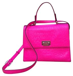 Kate Spade Satchel in Hot pink Neon