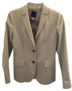 J.Crew J.Crew Khaki City Fit Pants Suit, Size 0