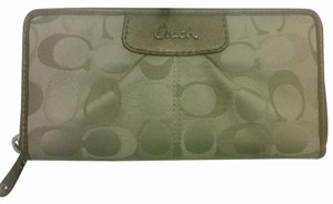 Coach NEW Coach Ashley Accordion Zip Around Wallet Clutch