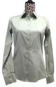 Brooks Brothers Stretch Tailored Button Down Shirt Mint Green