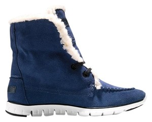 Cole Haan Blue Boots