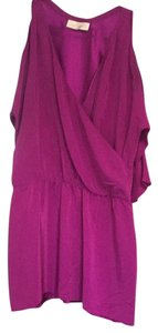 Amanda Uprichard short dress Purple on Tradesy