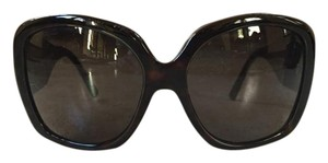 Salvatore Ferragamo Ferragamo Black Sunglasses