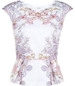 Hobbs London Top White multi
