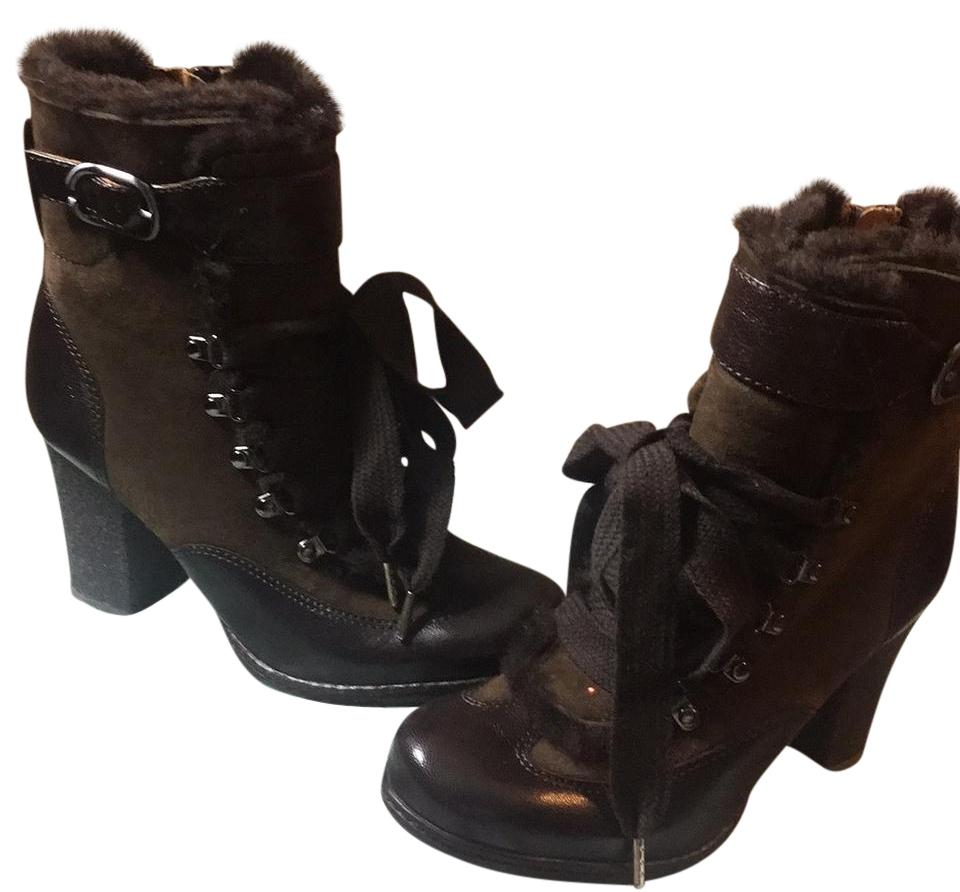 Naya Brown New Warm Stylish Boots Booties Size US 5 Regular (M ec5000e9a