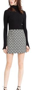 Zara Mini Skirt Black/White