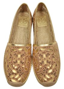 Tory Burch GOLD, NATURAL BLUSH Flats