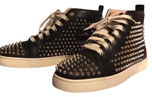 Christian Louboutin Black/Silver Athletic