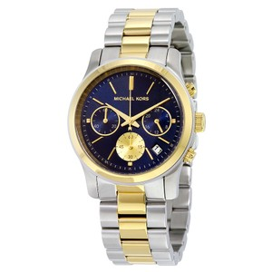 Michael Kors Michael Kors Women's Two Tone Runway Chronograph Watch MK6165