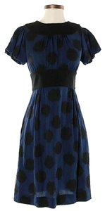 Diane von Furstenberg Silk Rose Print Fit & Flare Dress
