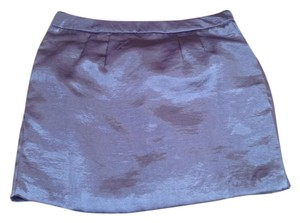 Old Navy Mini Skirt silver