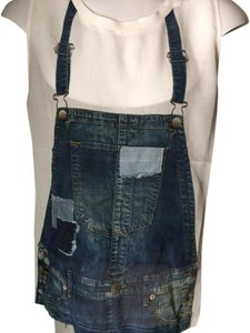 True Religion Casual Overalls Oversized Top Denim