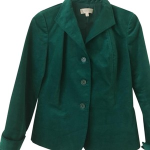 Talbots Holiday green Blazer