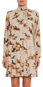 Paul & Joe short dress MULTICOLOR Horse Print on Tradesy