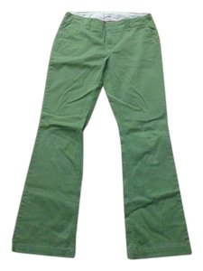 Express Khaki/Chino Pants green