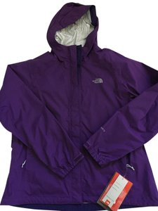 The North Face Shell Rain Purple Jacket
