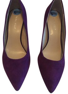 Nine West Purple Pumps