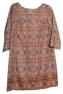 The Limited short dress Multi Shift on Tradesy