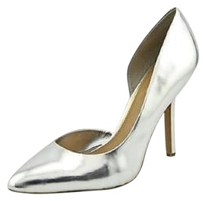 BCBG Paris Silver Pumps