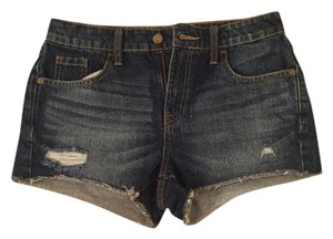 Mossimo Supply Co. Cut Off Shorts blue