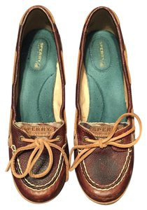 Sperry Brown and multi Wedges