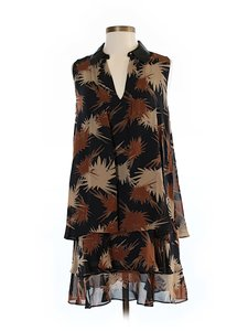 Rachel Zoe short dress Print Chiffon on Tradesy