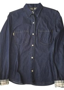 Burberry Button Down Shirt Denim