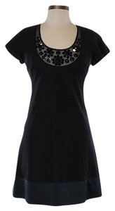 Rebecca Taylor Embellished Wool Dress