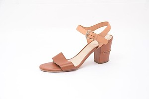 Chloé Chloe Ankle Strap Tan Sandals