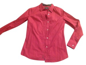 Barbour Button Down Shirt red