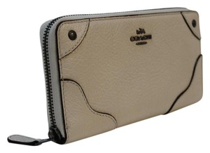 Coach COACH MICKIE ACCORDION ZIP WALLET IN GRAIN LEATHER F52645