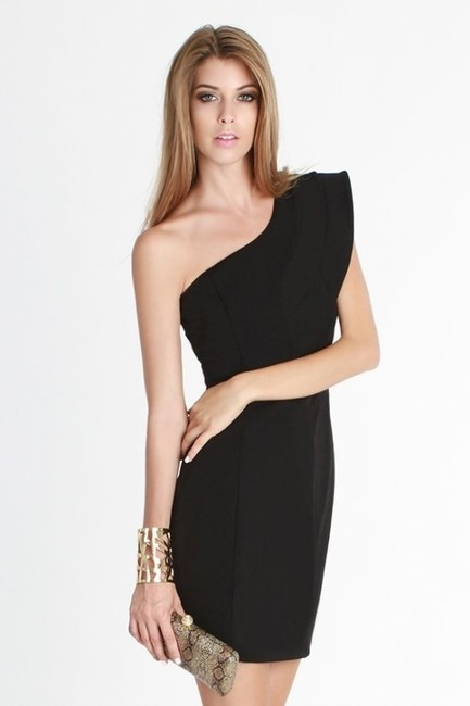 Nikibiki One Shoulder Layered Fashion Dress