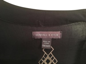 Kendall + Kylie Top Navy blue