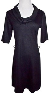 H&M H & M Cowl Neck A-line Size 8 Dress