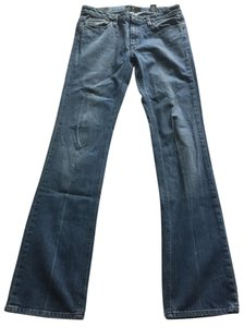 Marc by Marc Jacobs Low Rise Stretchy Boot Cut Jeans