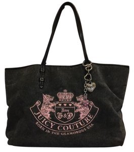 Juicy Couture Tote in Grey/pink