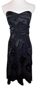 Jill Stuart Sweetheart Neck Lbd Strapless Silk Dress