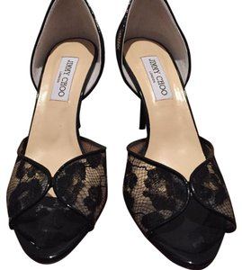 Jimmy Choo Black lace Formal