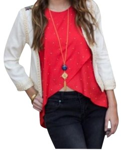 Knot Sisters Top Red