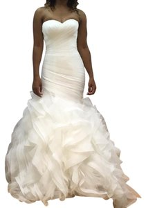 Pronovias Mermaid Train Tailored Long Size 2 Dress