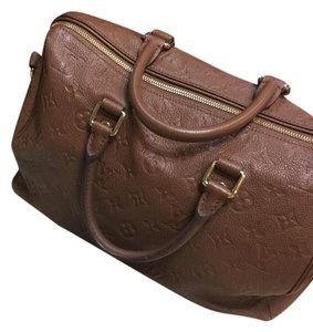 Louis Vuitton Satchel in Havane (camel)
