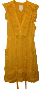Odille short dress Yellow on Tradesy