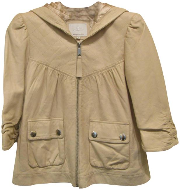 Preload https://img-static.tradesy.com/item/1970495/madison-marcus-beige-34-sleeve-hooded-zip-small-jacket-size-4-s-0-2-650-650.jpg