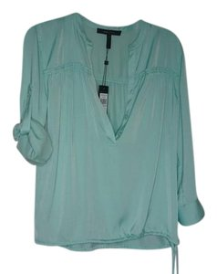 BCBGMAXAZRIA Top opaline green