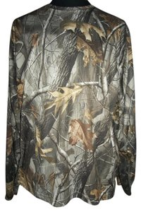 Realtree Camoflauge 2xlarge Longsleeve Hunting Outdoors T Shirt Green