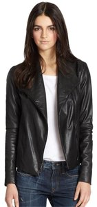 Vince Scuba Leather Leather Jacket