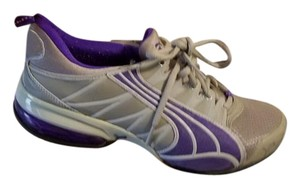 Puma gray/purple Athletic