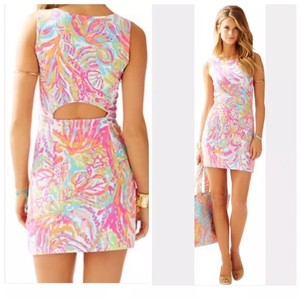 Lilly Pulitzer short dress Multi Scuba to Cuba on Tradesy
